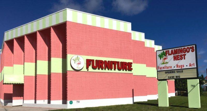 Welcome to the Flamingo's Nest Furniture Store on Tamiami Trail, Sarasota